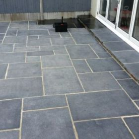 Before sealing a patio for a domestic property.