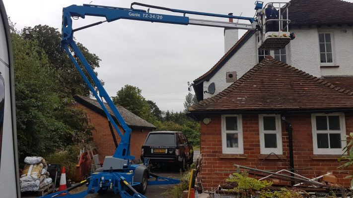 High Access Gutter Cleaning & Repairs