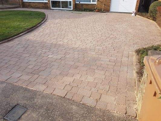 After driveway clean rickmansworth
