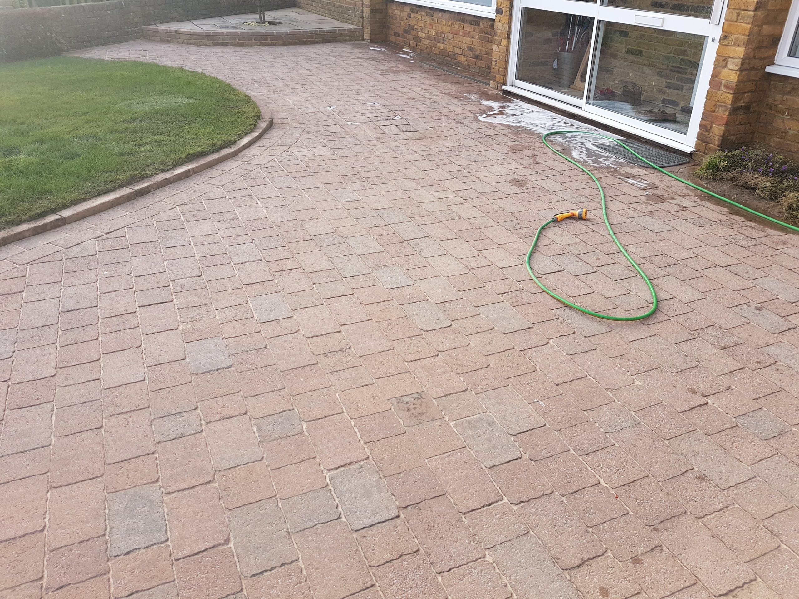 After driveway clean rickmansworth 2
