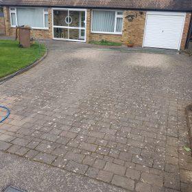 before driveway clean rickmansworth