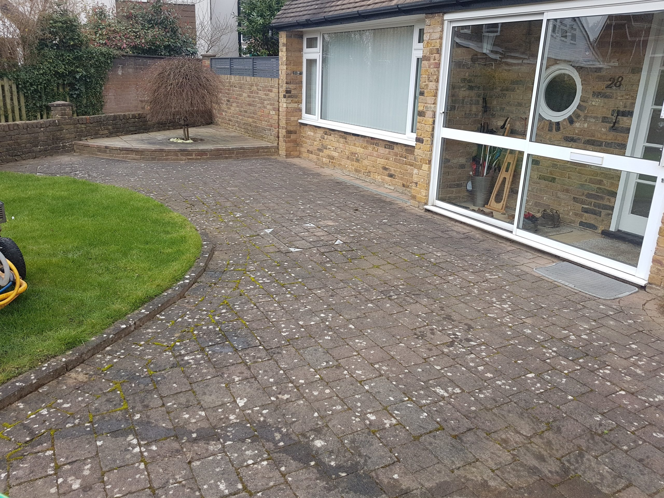 before driveway clean in rickmansworth